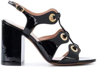 L'Autre Chose open toe eyelet sandals