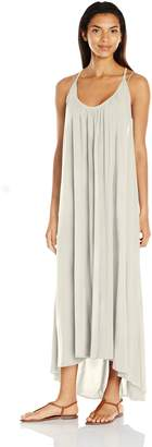Vince Camuto Women's Fiji Solids Racer Back Maxi Cover up Dress