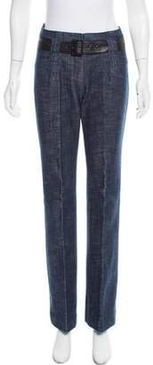 Martin Grant Mid-Rise Wide-Leg Jeans
