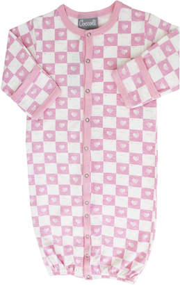 Coccoli Checkered Heart Sleep Gown