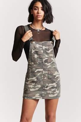 Forever 21 Camo Overall Dress