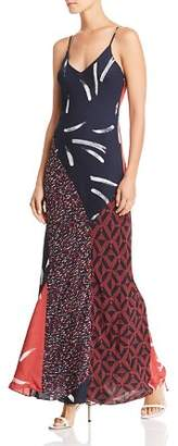Joie Braewin Silk Maxi Dress