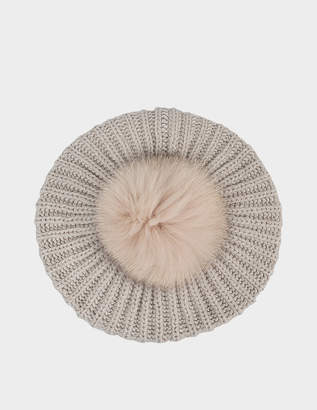 Inverni Loose cashmere beret