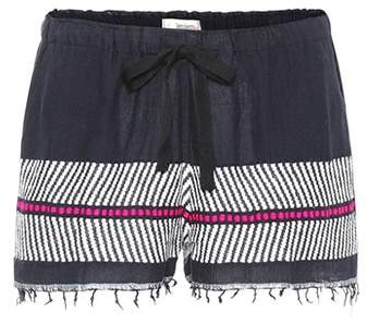 Shorts Makari aus Baumwolle und Wolle