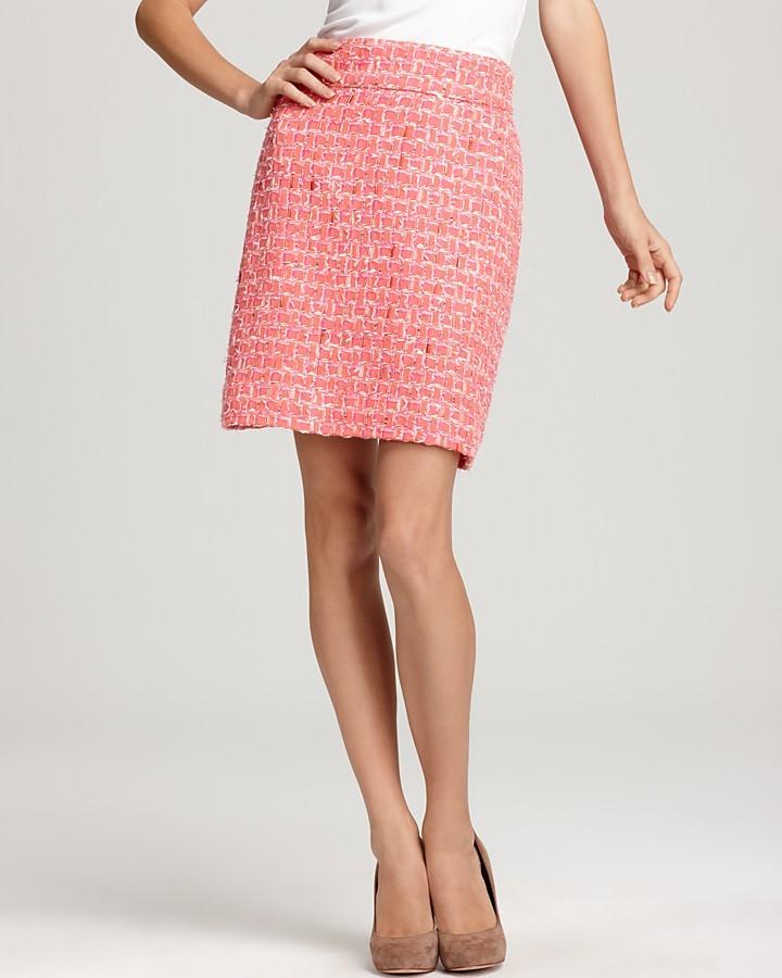 kate spade new york Delphina English Tweed Skirt