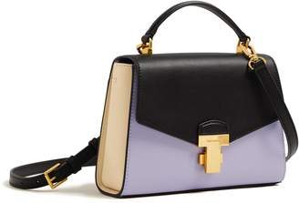 Tory Burch JULIETTE COLOR-BLOCK SMALL TOP-HANDLE SATCHEL