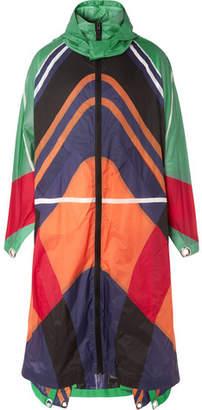 Craig Green Moncler Genius 5 Moncler Colour-Block Ripstop Cape Coat