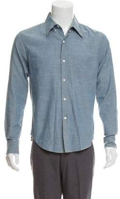 Band Of Outsiders Denim Button-Up Shirt