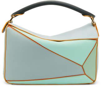 Loewe Blue Paulas Ibiza Edition Puzzle Bag
