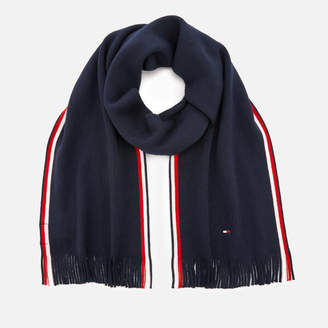 Tommy Hilfiger Men's Corporate Edge Scarf - Navy