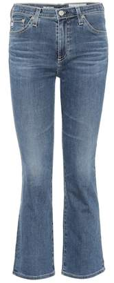AG Jeans Jodi crop flared jeans