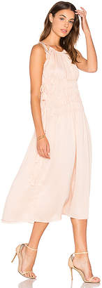 Endless Rose Strappy Maxi Dress in Pink $187 thestylecure.com