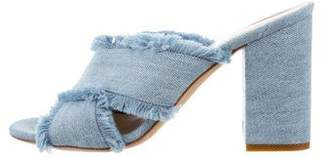M.Gemi M. Gemi Denim Slide Sandals
