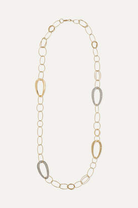 Ippolita Cherish 18-karat Gold Diamond Necklace