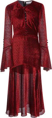 Prabal Gurung Long Sleeve Twist Dress With Keyhole
