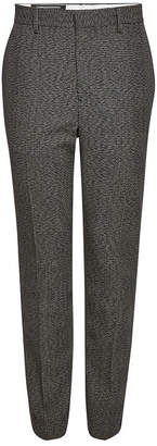 Calvin Klein Embroidered Pants with Virgin Wool