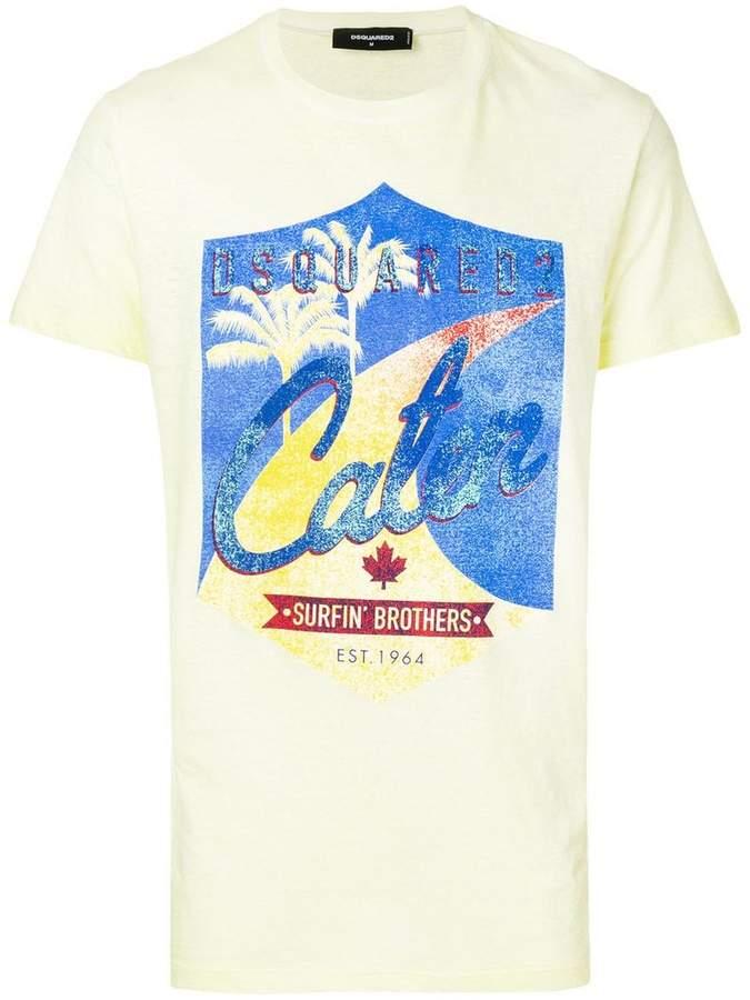 Caten print T-shirt