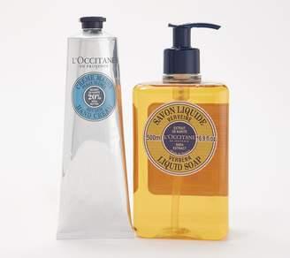 L'Occitane Shea Hand Cream & Shea Verbena Shower Gel