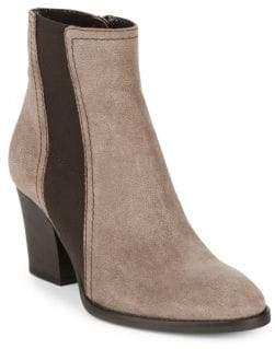 Aquatalia Faye Pebbled Almond Toe Boots