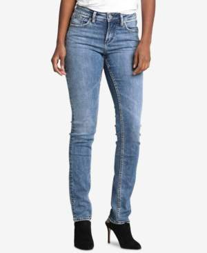 Silver Jeans Co. Avery Curvy Straight-Leg Jeans
