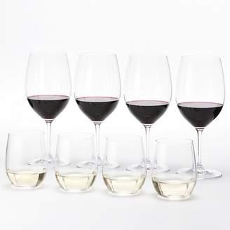 Riedel Vinum Cabernet & O Chardonnay Wine Glasses, Set of 8