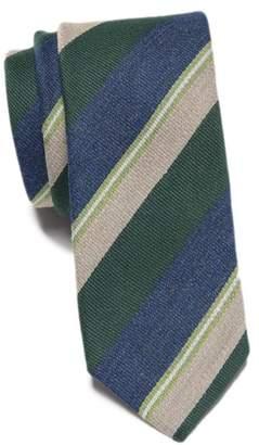 Original Penguin Lykken Stripe Skinny Tie