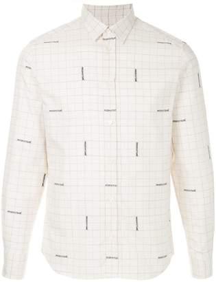 MAISON KITSUNÉ jacquard classic shirt