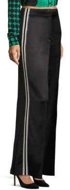 Diane von Furstenberg Wide-Leg Ribbon Pants