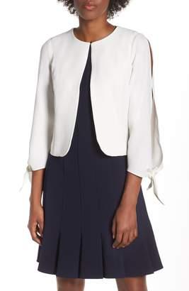 Julia Jordan Tie Sleeve Jacket