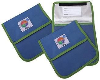 Fresh Baby MyPlate Reusable Sandwich Bag 3 Piece