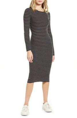 Splendid Kinsley Stripe Body-Con Dress