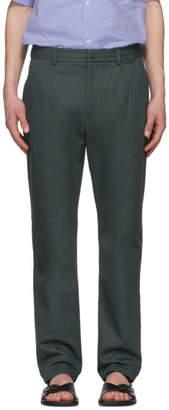 Acne Studios Green Amdre Trousers