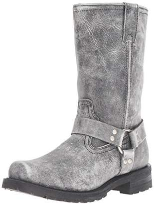 "Ride Tec Men's 1442SBK 13"" Stonewash Harness Work Boot"