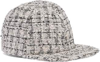 Eugenia Kim Darien Boucle-tweed Baseball Cap