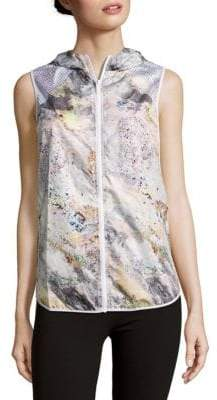 Printed Woven Vest