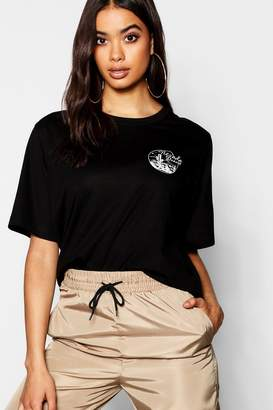 boohoo Navada Desert Pocket Placement T-Shirt