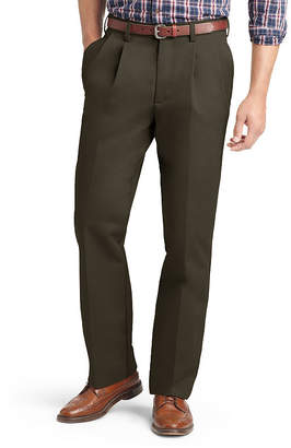 Izod Mens Classic Fit Pleated Pants - Big and Tall