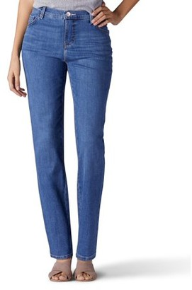 Lee Jeans Women's Instantly Slims Straight Leg Jean
