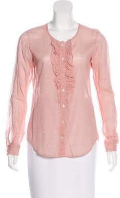 Hartford Button-Up Long Sleeve Top