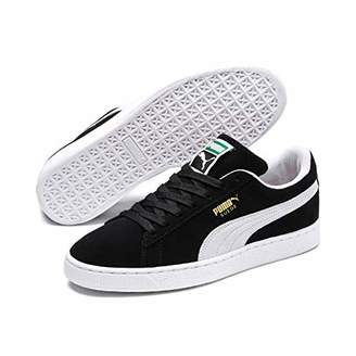 cheap for discount 55204 b7ebd Puma Suede Classic+, Unisex Adults Low-Top Trainers, Black (Black White