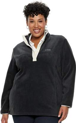 Juicy Couture Plus Size Columbia Three Lakes Fleece Pullover Jacket