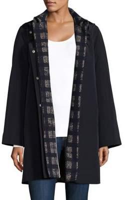 Jane Post 3-in-1 Coat, Plaid Base& Topper