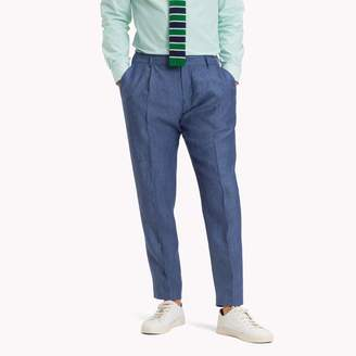 Tommy Hilfiger Linen Slim Fit Trouser
