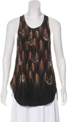 3.1 Phillip Lim Sleeveless Embellished Top