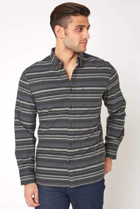 Surfside Supply Long Sleeve Tonal Stripe Button Down Shirt