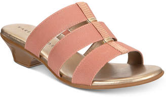 Karen Scott Erinn Slip-On Sandals, Created For Macy's