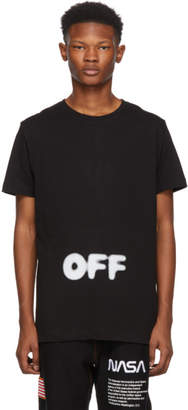 Off-White Off White Black Kidmograph Slim T-Shirt