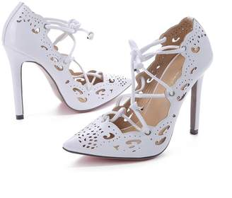 ed901eec09cad1 Mofgr Women Pumps Sexy High Heels Wedding Party Shoes Gold and Heels Plus  Size 35-