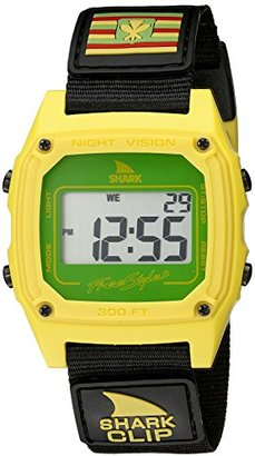Freestyle (フリースタイル) - [フリースタイル]Freestyle 腕時計 シャーク クリップ ハワイ 10気圧防水 ナイロン ブラック FS10022120 メンズ 【正規輸入品】