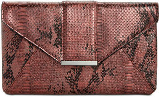 INC International Concepts I.n.c. Luci Python-Embossed Envelope Clutch, Created for Macy's